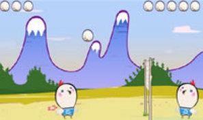 Original game title: Volley Pollo