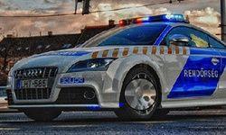 Polizeiauto: Versteckte Zahlen