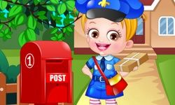 Baby Hazel Postwoman Dressup