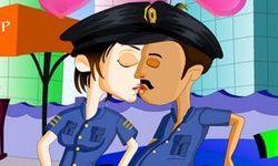 Police Kissing