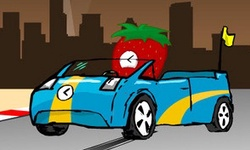 Strawberry Slot Car