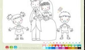 Marriage Coloring