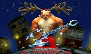 Santa Rockstar 5