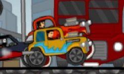 Corrida de Carros Antigos Quentes