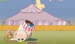 Original game title: Ren & Stimpys Crazy Cannon