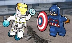 Lego Marvel Comic Cover Builder