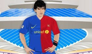 Lionel Messi Dressup