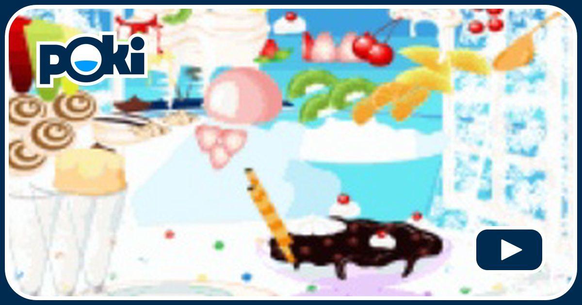 Decoraci n de helados juega gratis en paisdelosjuegos - Juegos gratis de decoracion ...