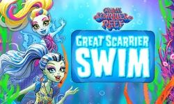 Monster High Great Scarrier Swim