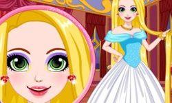 El Maquillaje Brillante de Rapunzel