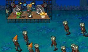 Pea vs. Zombies