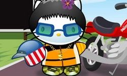 Hello Kitty Moto