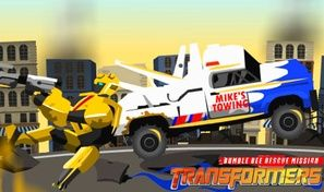 Original game title: Transformers: Bumble Bee Rescue Mission