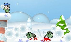 Original game title: Winter Zombie Invasion