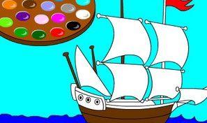 Paint Me: Ship