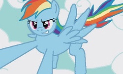 Rainbow Dash Minigame