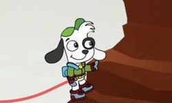Climbing with Doki