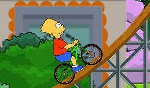Original game title: The Simpsons BMX Game