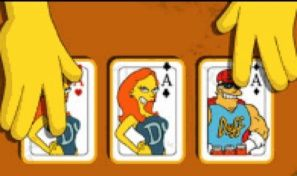 Original game title: Simpsons 3 Card Moe