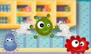 Original game title: Toothpaste vs Bacteria