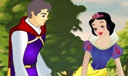 Snow White Kissing Prince