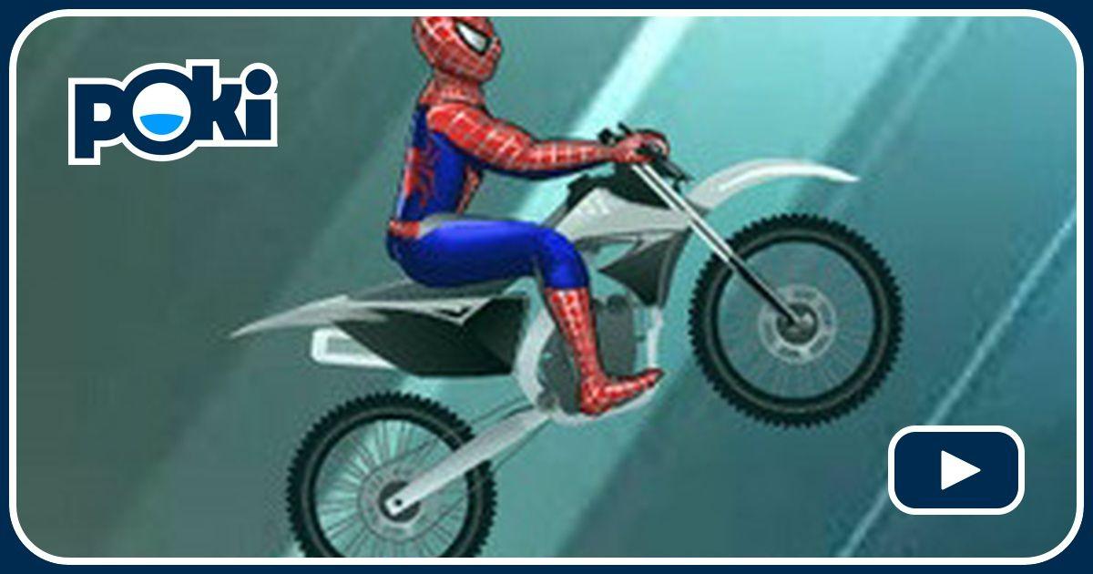Spiderman moto sur glace - Moto spiderman jeux ...