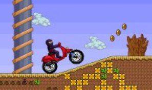 Original game title: Ninja Motocross