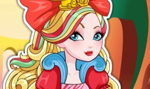 Original game title: Way Too Wonderland Apple White Dress-Up
