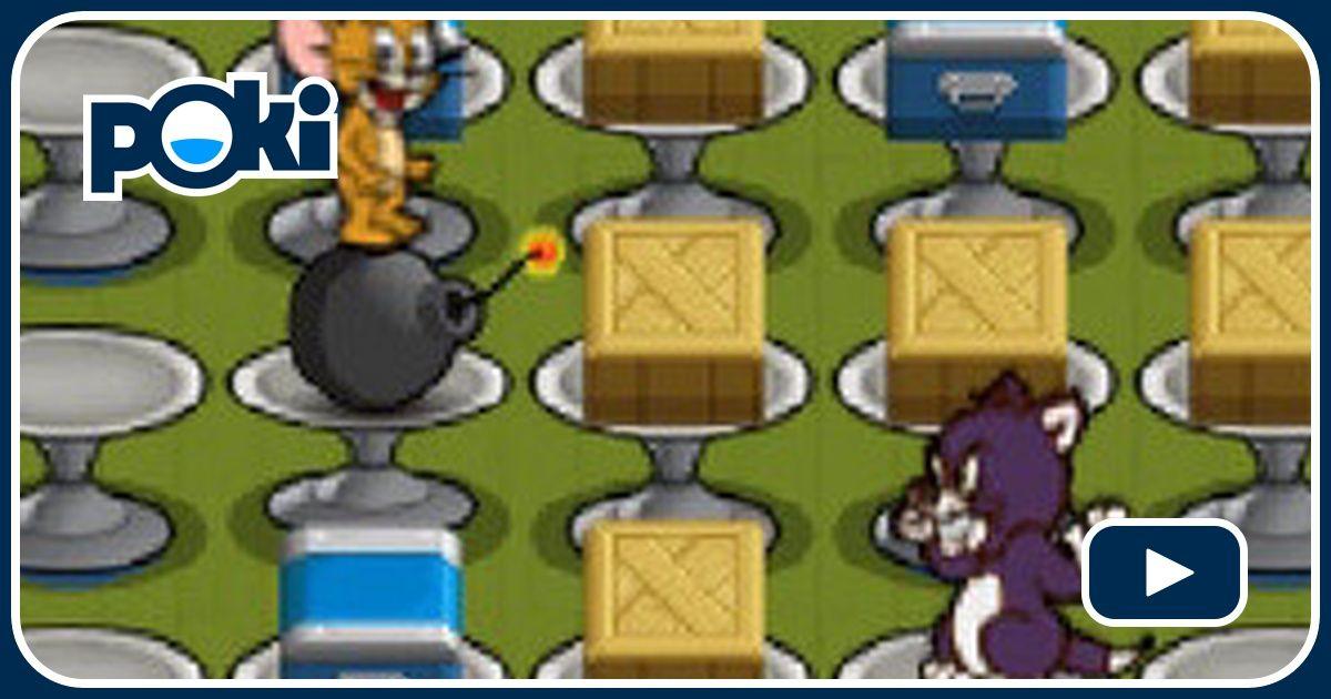 tom amp jerry bomberman joue gratuitement sur jeuxjeuxjeux