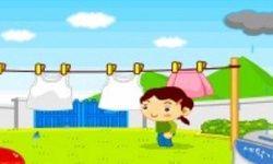Giặt Đồ Ngoài Trời