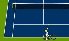 Original game title: Gamezastar Open Tennis