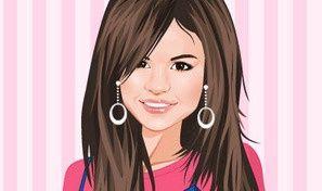 Original game title: Selena on Trip Dress Up