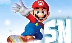 Mario Snow Skating