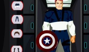 Original game title: Captain America Dress-Up