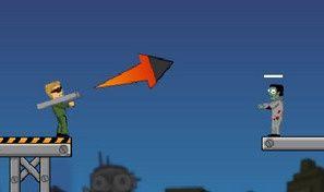 Original game title: Flaming Zombooka