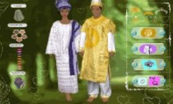 African Wedding Dress Up