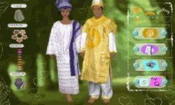 African Wedding Dress Up