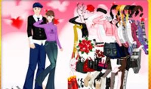 Valentine Couple Dress Up