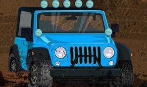 Original game title: Off Road Jeep Hazard