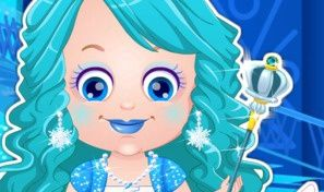 Baby Hazel Ice Princess Dress-Up