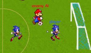 Mario Vs Sonic Football
