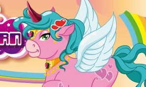 Happy Pink Unicorn