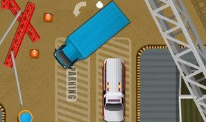 Original game title: Park My Big Rig 2