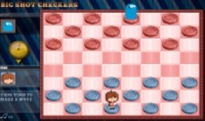 Original game title: Big Shot Checkers