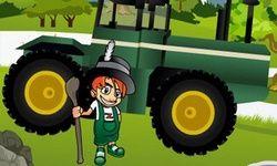 Wereldwijde Tractor Parcours