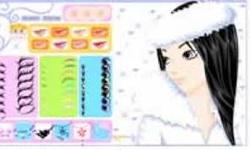 Winter Girl Make Up