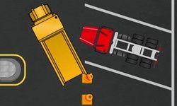 Παρκάρισμα Μεγάλου Φορτηγού