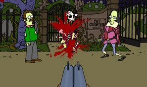 Original game title: Simpsons Zombie Game
