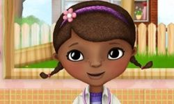 Doc McStuffins Washing Clothes