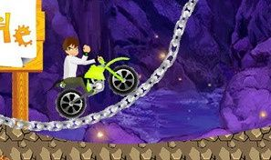 Original game title: Ben 10 Bike Rush